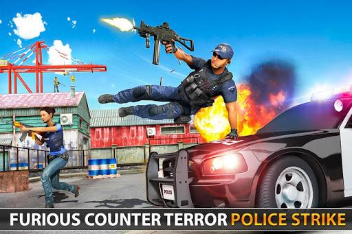 Police Counter Terrorist Shooting - FPS Strike War 6 screenshots 7