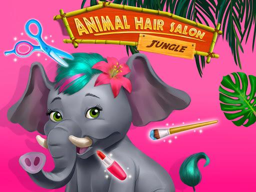 Jungle Animal Hair Salon - Styling Game for Kids 4.0.10018 screenshots 15