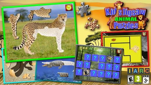 Kids Animal Jigsaw Puzzles 1.8.5 screenshots 1