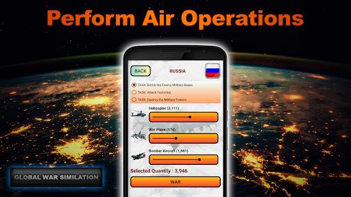 Global War Simulation Lite Strategy War Game v23 LITE Screenshots 6