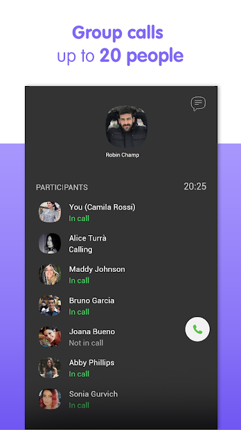Viber Messenger - Free Video Calls & Group Chats Android App Screenshot