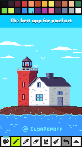 Pixel Studio - Pixel art editor, GIF animation 3.35 screenshots 1