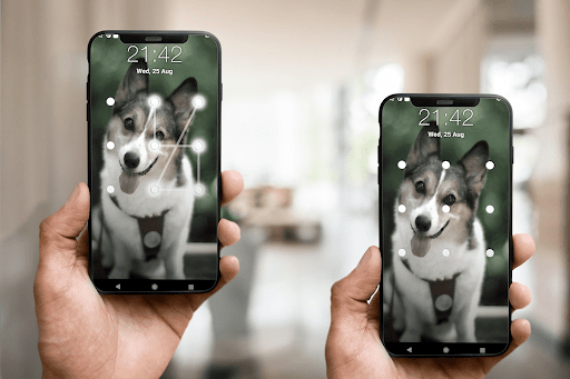 Puppy Dog Pattern Lock Screen android2mod screenshots 7