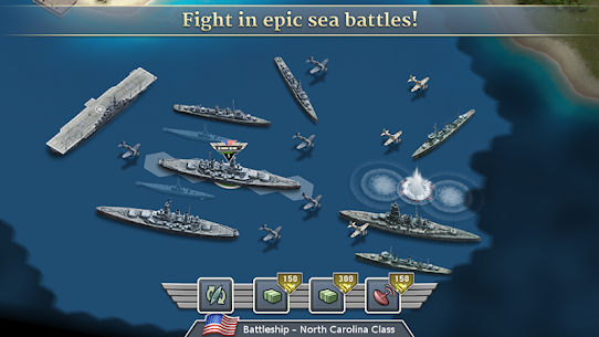 1942 Pacific Front – a WW2 Strategy Mod Apk (Unlimited Gold Coins) 3