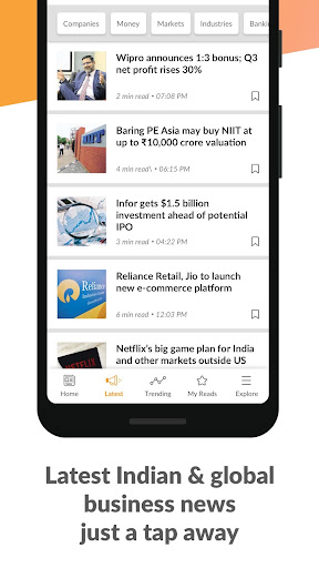 Mint Business News 4.5.8 screenshots 4