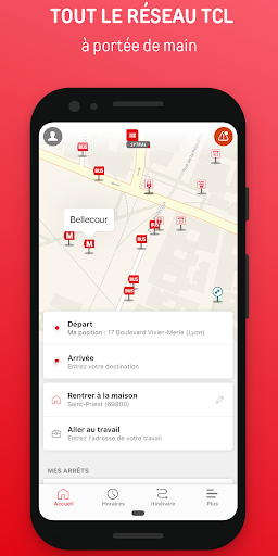 Lyon Public Transport  screenshots 1