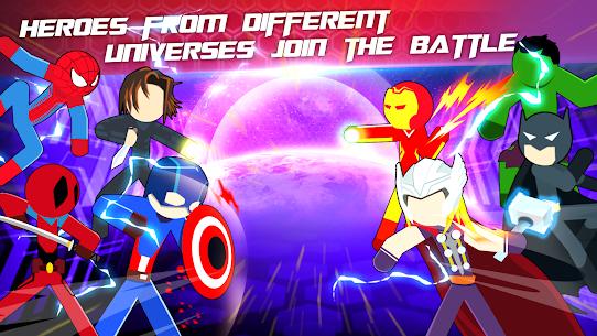 Super Stickman Heroes Fight Mod 2.5 Apk [Unlimited Money] 2