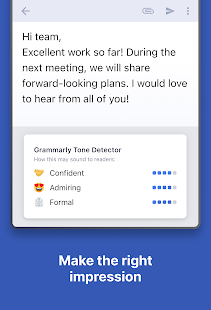 Grammarly Keyboard - English Grammar Assistant Screenshot