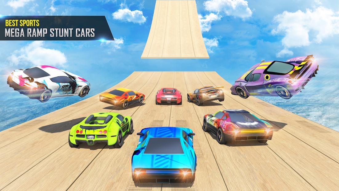 Mega Ramp Car Stunts Racing 2 screenshot 9