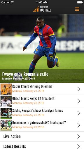 african football screenshot 1