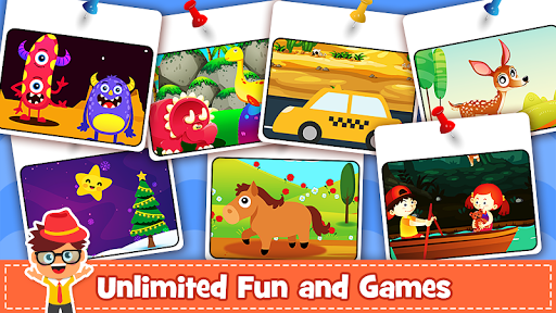 Animal Puzzle for kids - Preschool Learning Games  screenshots 12