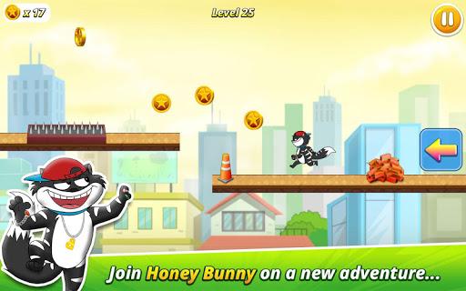 Honey Bunny – Run for Kitty : Hero Runner Dash 1.3 screenshots 1