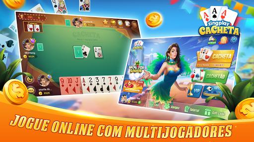 Cacheta ZingPlay: Jogo de cartas online gru00e1tis 1.1 screenshots 1