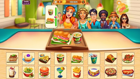 Cook It! Cooking Games Madness & Krusty Cook-off 1.3.4 MOD Apk Download 2