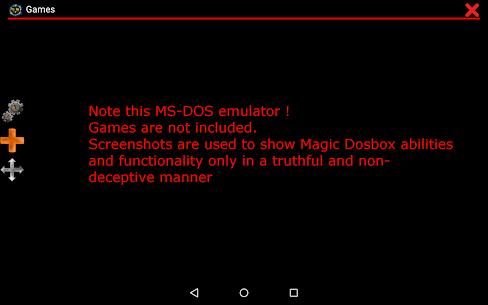 Magic Dosbox Free 1.0.82 Mod APK Latest Version 1