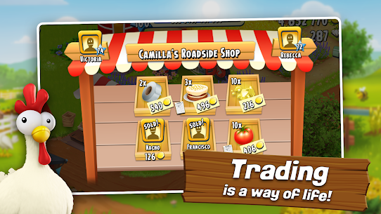 Hay Day APK MOD 1.51.91 (Unlimited Coins/Game/Seeds) 2
