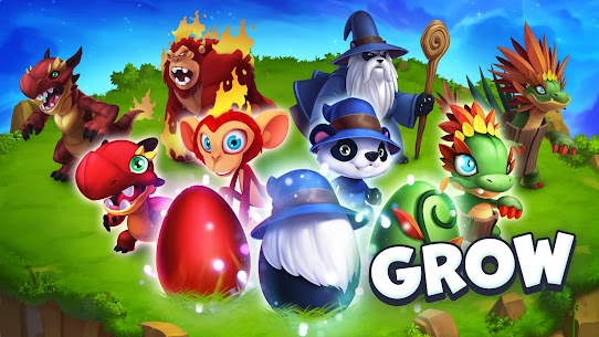 Monster Legends Mod APK Download (Unlimited Gems / Food) – Updated 2021 1