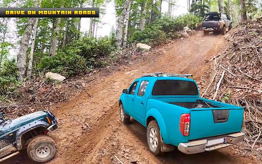 Pickup truck driving game: truck driver simulator  screenshots 23