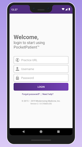 PocketPatient screenshot for Android