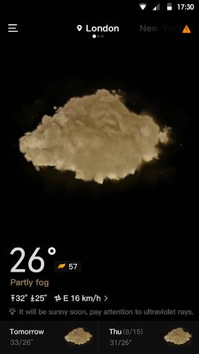 Live Weather & Accurate Weather Radar - WeaSce android2mod screenshots 2
