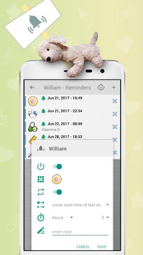 Baby Care Tracker - Breastfeeding 1.16.17 Screenshots 4