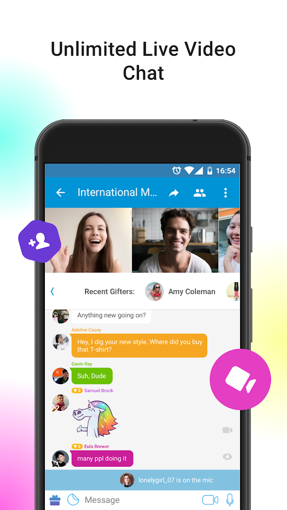 And video chat apk flirt chat Video Chat