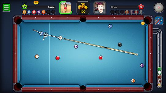 8 Ball Pool Mod Apk Unlimited Money+Cash+Cues Latest Version 2021 1