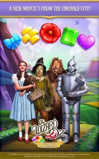 The Wizard of Oz Magic Match 3 Puzzles & Games apktram screenshots 6