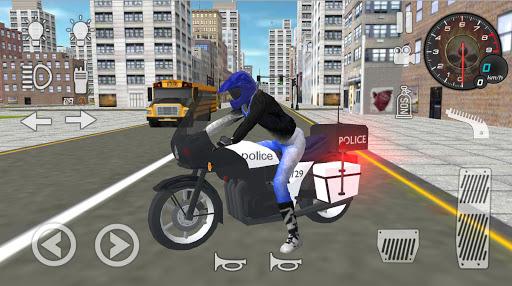Real Police Motorbike Simulator 2020 1.7 screenshots 1
