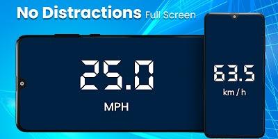 Digital Speedometer - GPS Offline odometer HUD Pro