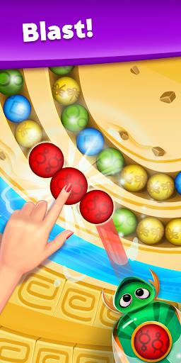 Violas Quest: Marble Blast Bubble Shooter Arcade 3.038.17 screenshots 1