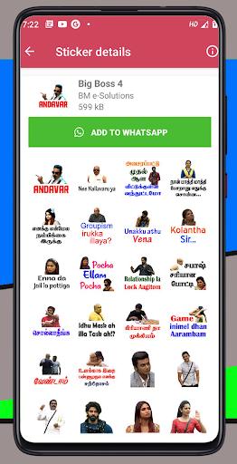 tamil stickers - 1500+ sticker wa sticker app screenshot 2
