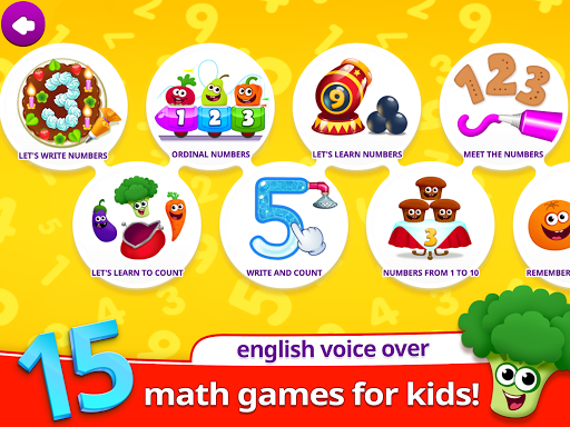 Funny Food 123! Kids Number Games for Toddlers  screenshots 7