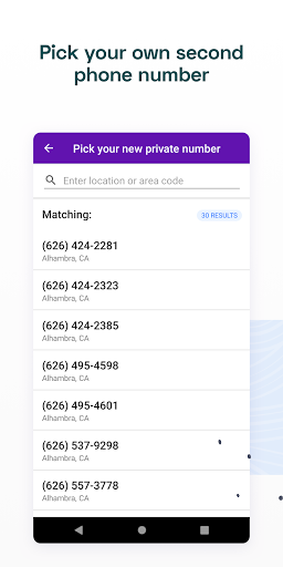 Unlisted - Second Phone Number 2021.01 Screenshots 4