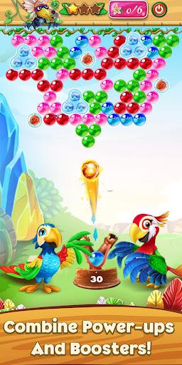 bubble parrots: bubble shooter screenshot 3