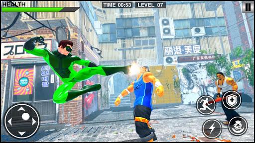 Rope Frog Hero: Rope Ninja Fighting Games 1.0.5 screenshots 5