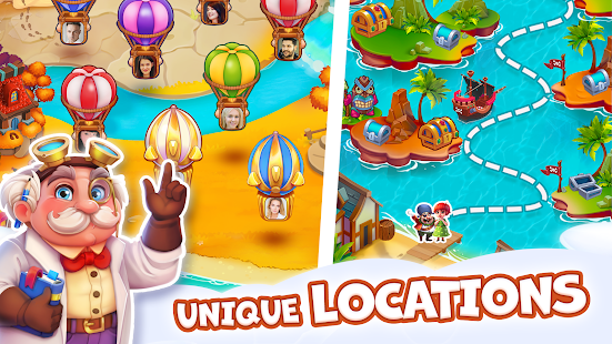 Pirate Treasures - Gems Puzzle 2.0.0.101 Screenshots 15