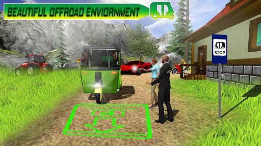 Modern auto tuk tuk Real rickshaw game 2021 1.8 screenshots 9
