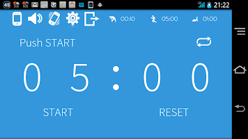 Interval timer HIIT Training
