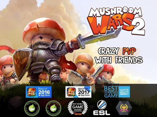 Mushroom Wars 2: Real-time war strategy ud83cudf44 Defense  screenshots 16