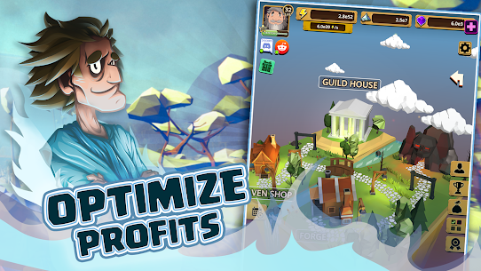 Almighty: idle clicker game MOD APK (Unlimited Money) 5