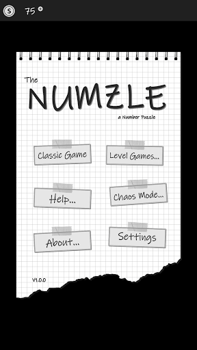 The Numzle - a Number Puzzle 1.2.1 screenshots 1
