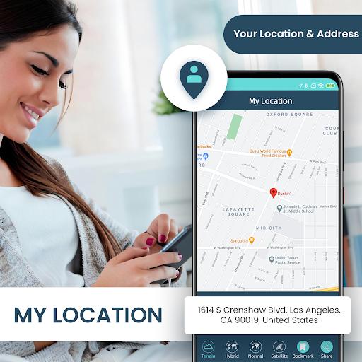 GPS Navigation Live Map & Driving Directions Guide 1.1.0 Screenshots 2