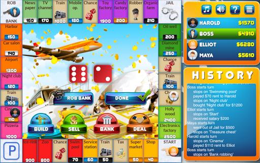 CrazyPoly - Business Dice Game Apk 1