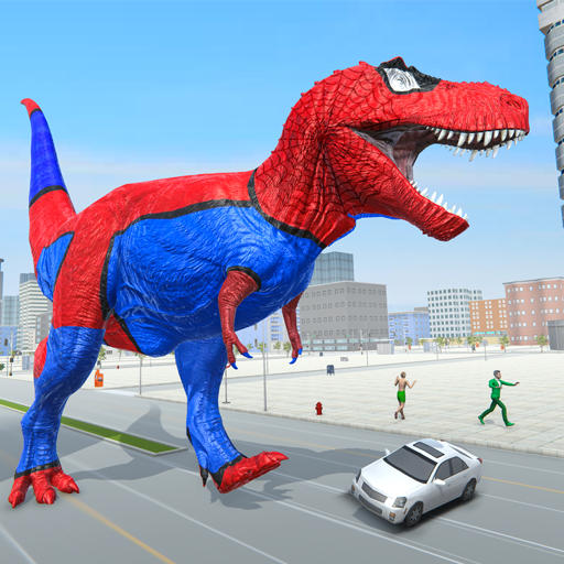 Extreme City Dinosaur Smasher 3D City Riots