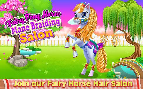 Fairy Pony Horse Mane Braiding Salon 1.0.1 Android Mod + APK + Data 1