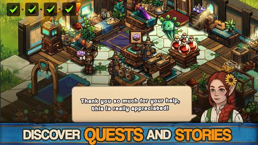 Tiny Shop: Cute Fantasy Craft, Design & Trade RPG screenshots 5