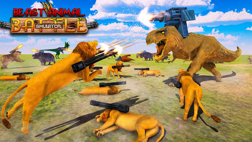 Beast Animals Kingdom Battle: Dinosaur Games 2.6 screenshots 13