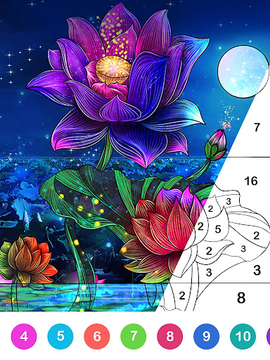Paint.ly Color by Number - Fun Coloring Art Book 2.1.6.4 screenshots 8