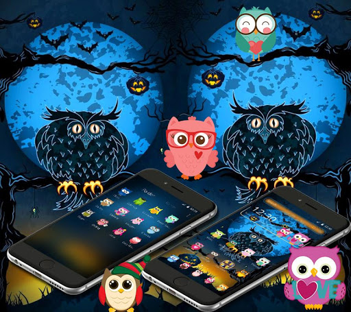 halloween night owl theme screenshot 3